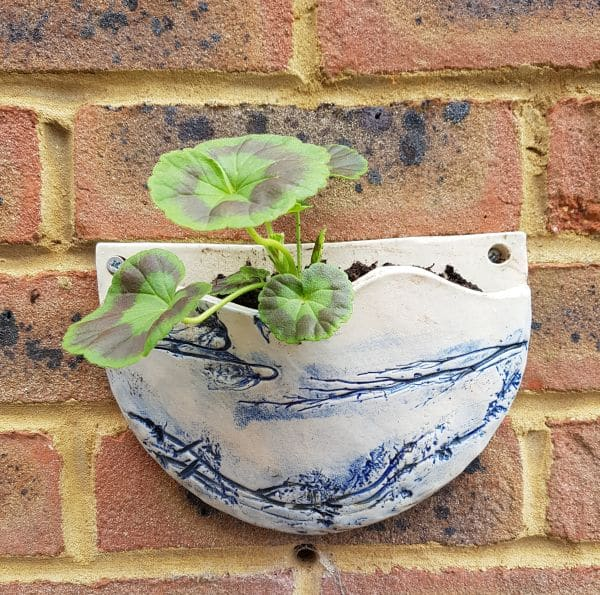 bespoke ceramic wall planter