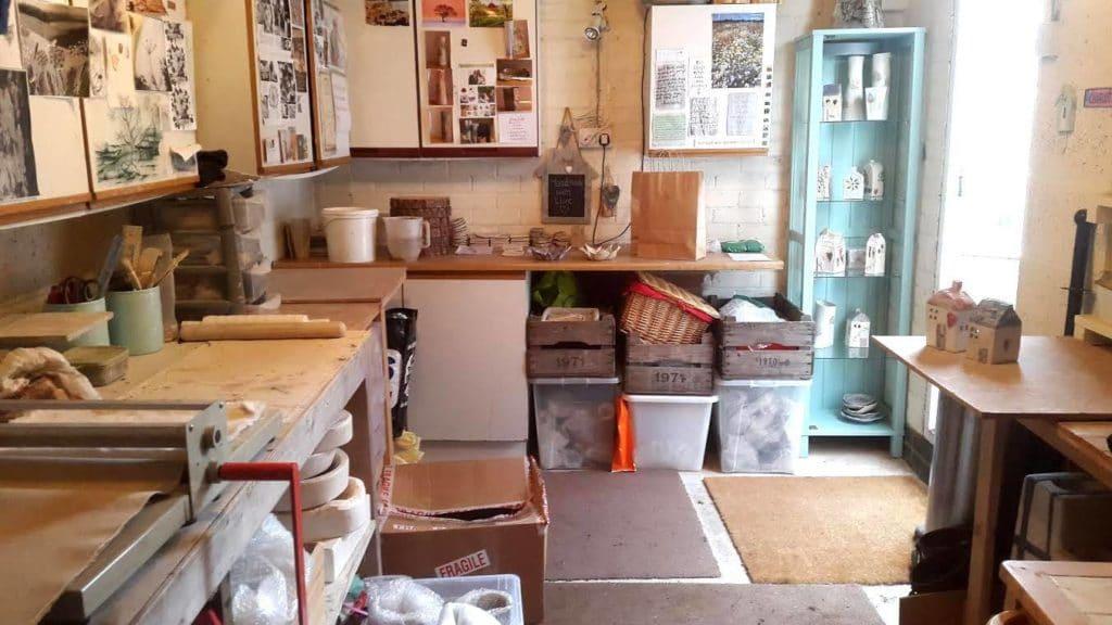 ceramics studio small business