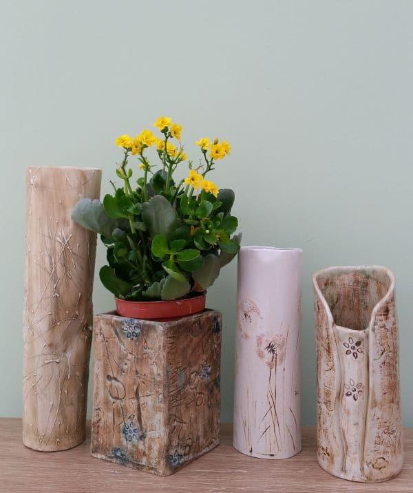 ceramic vases pots vessels
