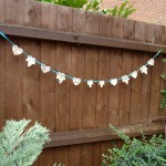 Ceramic Leaves & Hearts Garland