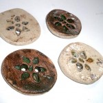 Rustic Ceramic Buttons