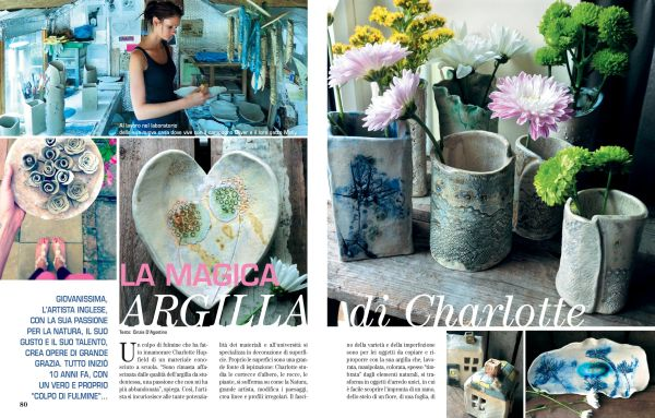 Pages 1-2 of Casaromantica Shabby Chic feature