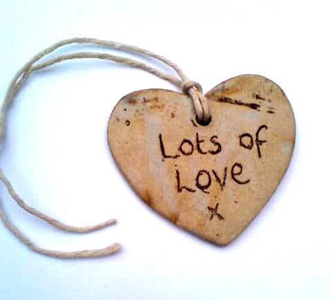 Lots Of Love Ceramic Gift Tag Charlotte Hupfield Ceramics