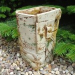 Large Square Organic Vessel