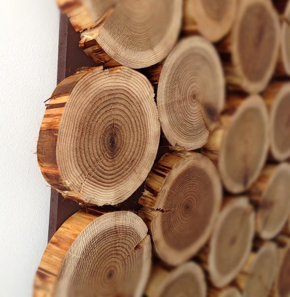 Wood logs for decoration home decorating ideas