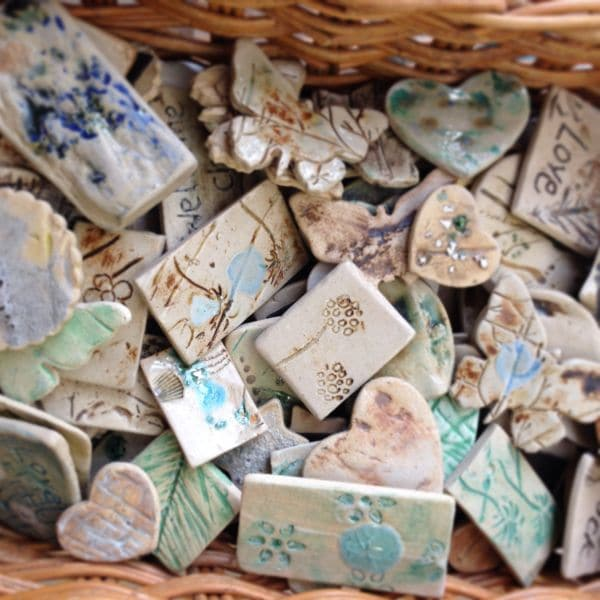 ceramic magnets & brooches