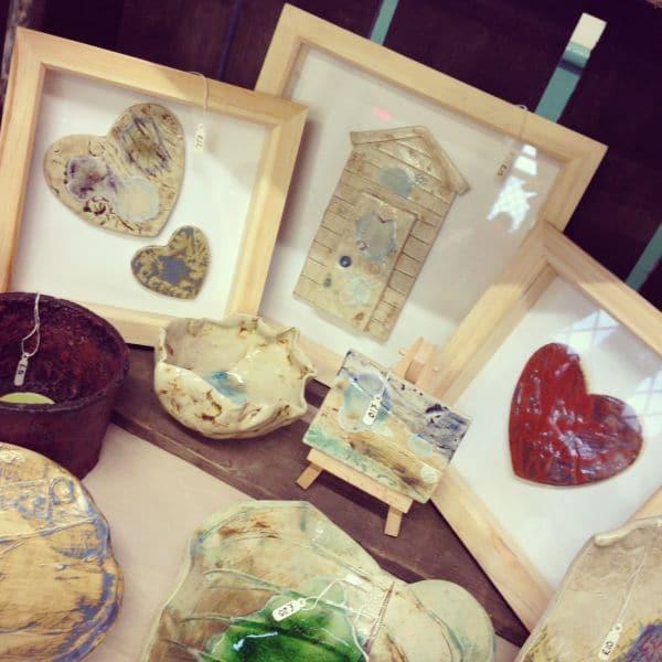 framed ceramic pictures