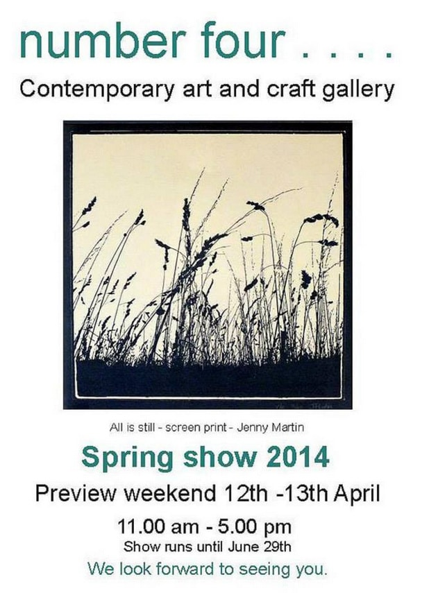 Spring Exhibition at Number Four Gallery