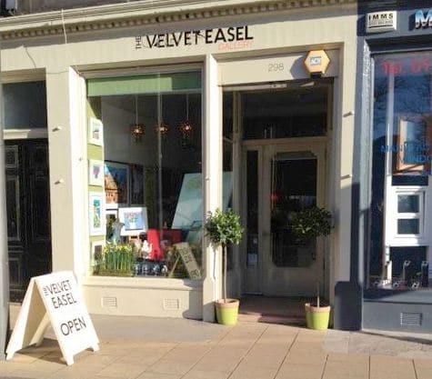 Velvet Easel shopfront
