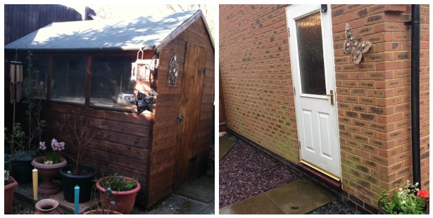 shed vs garage