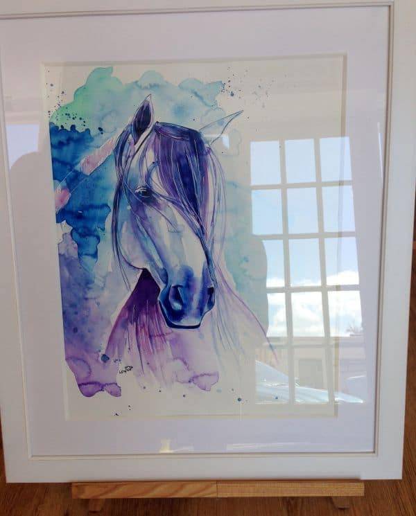 Laura Slade Art horse painting