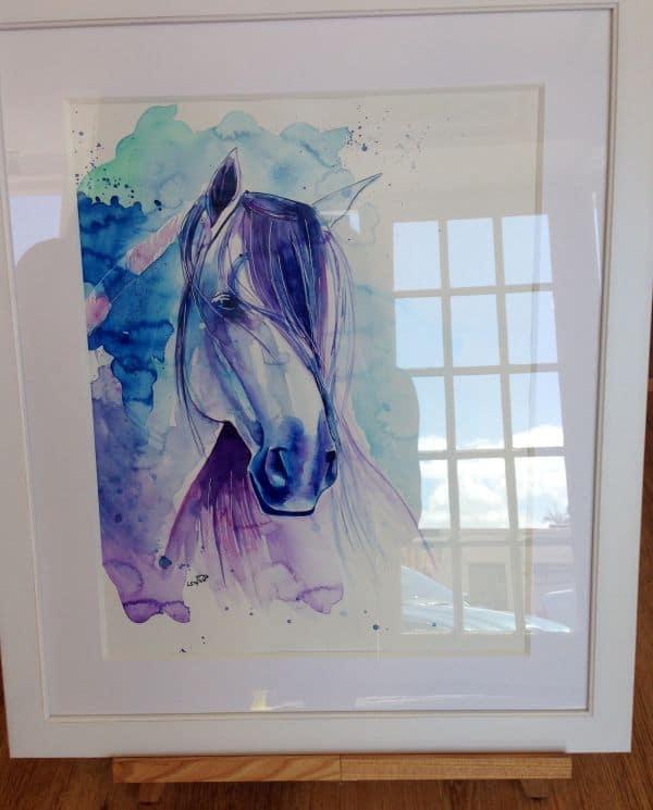 Laura Slade Art horse painting