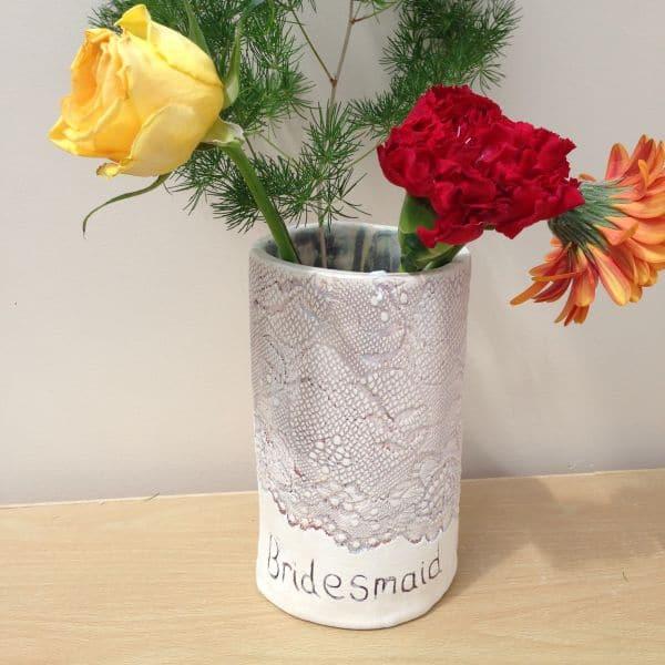 Bridesmaid vase