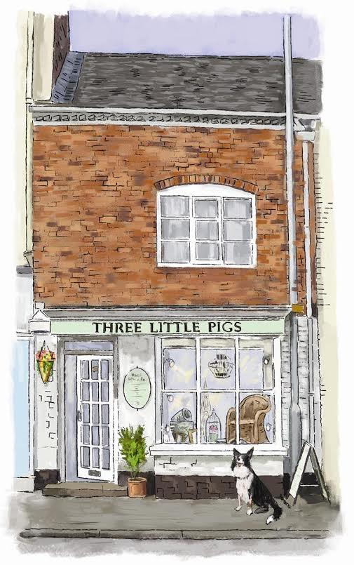 Three Little Pigs shop