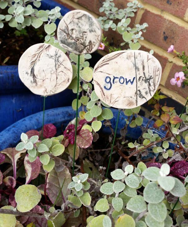 circular grow garden ornaments