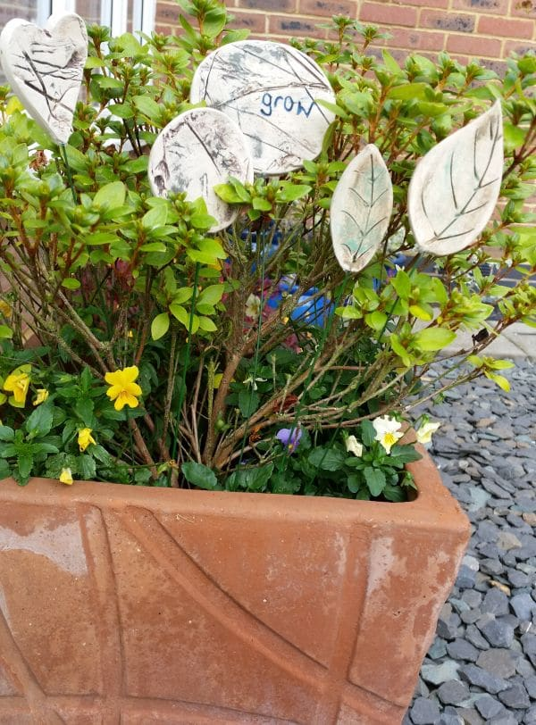ceramic planter decorations