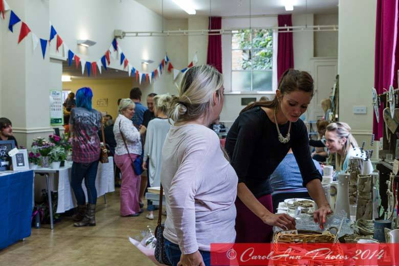 craft fair at Macmillan coffee morning