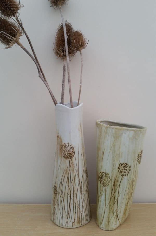 Dandelion Meadow Vases