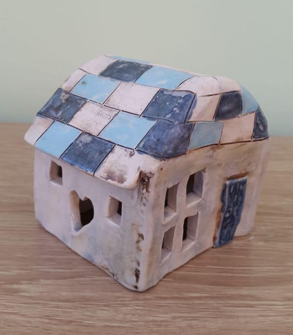 Ceramic Tea Light Houses Ceramic Tea Light House With