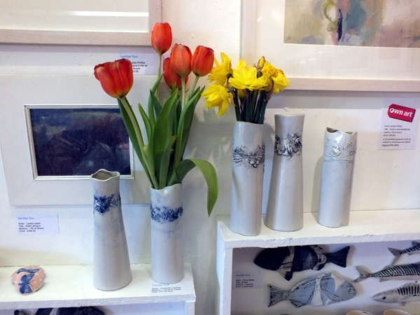 Vases at Number Four Gallery