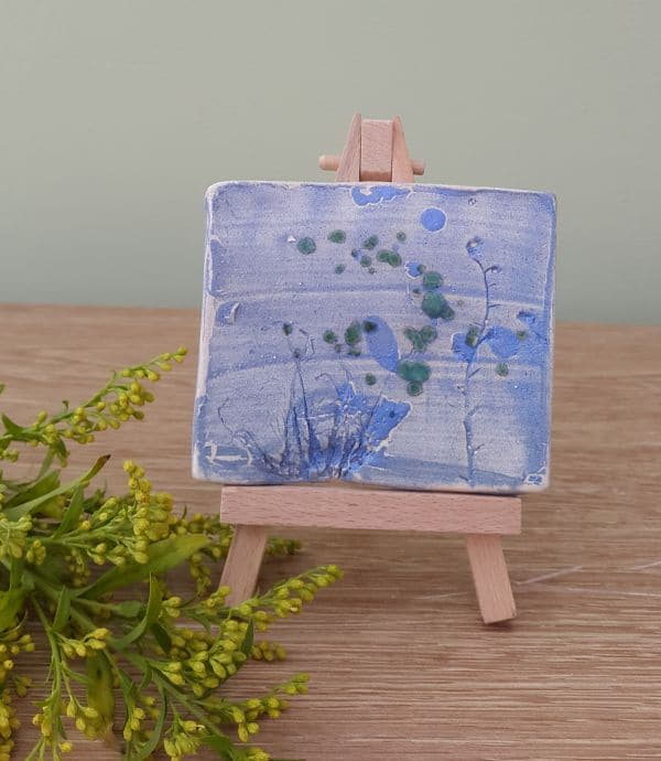 blue meadow ceramic tile
