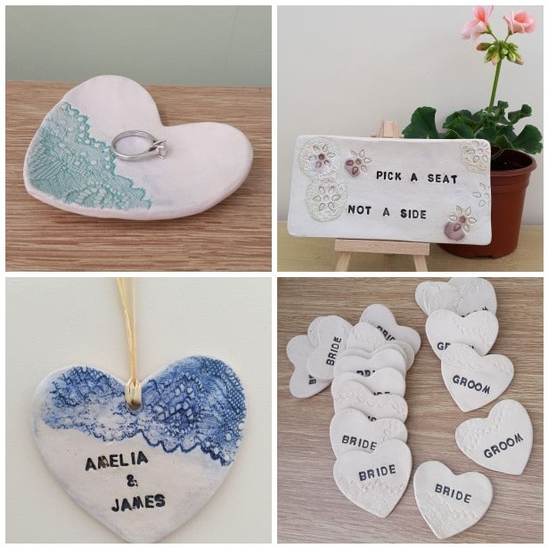 personalised wedding ceramics