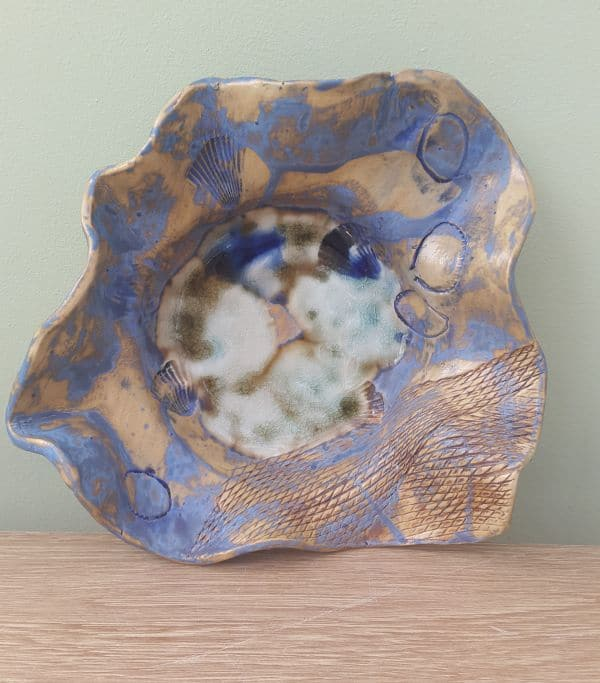 beside the sea ceramic bowl