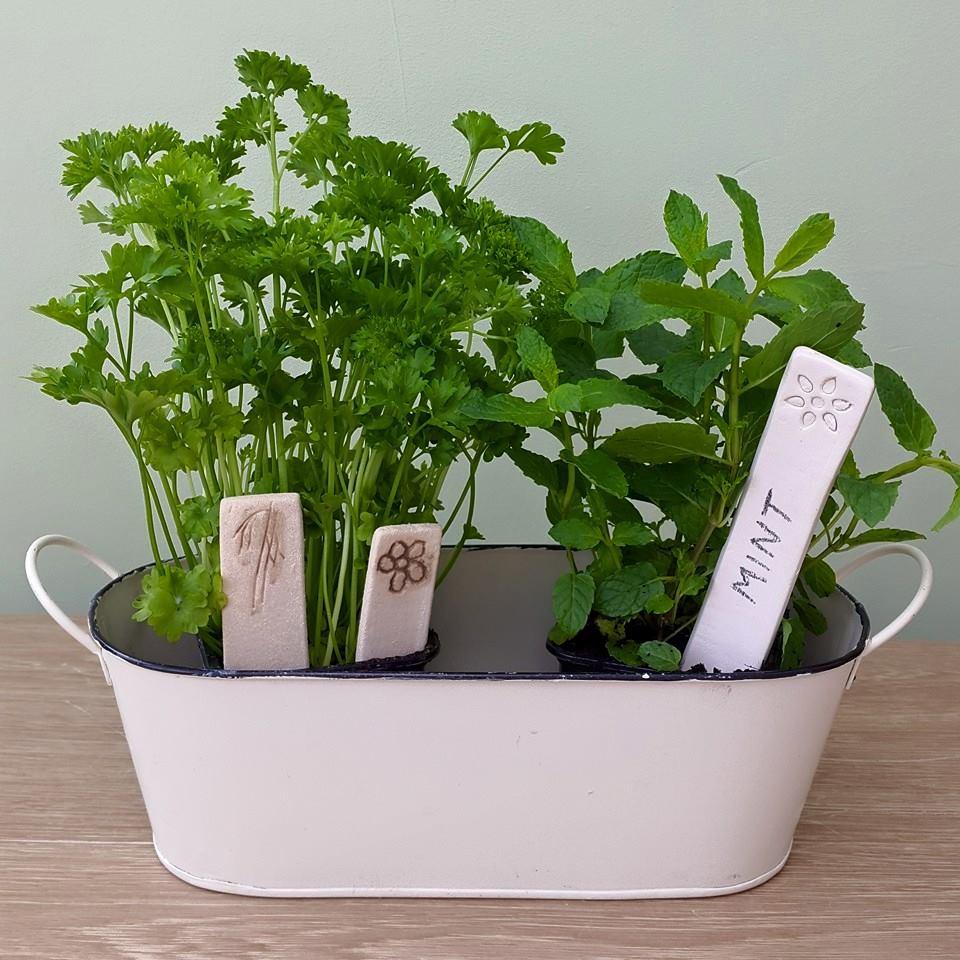 ceramic plant markers