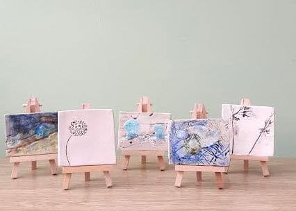 CHC Mini Art on Easels
