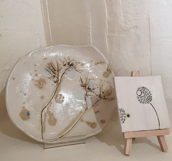 organic ceramic plate