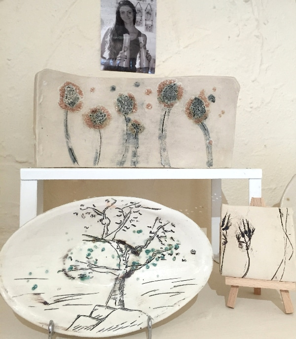 bonsai tree dandelion art
