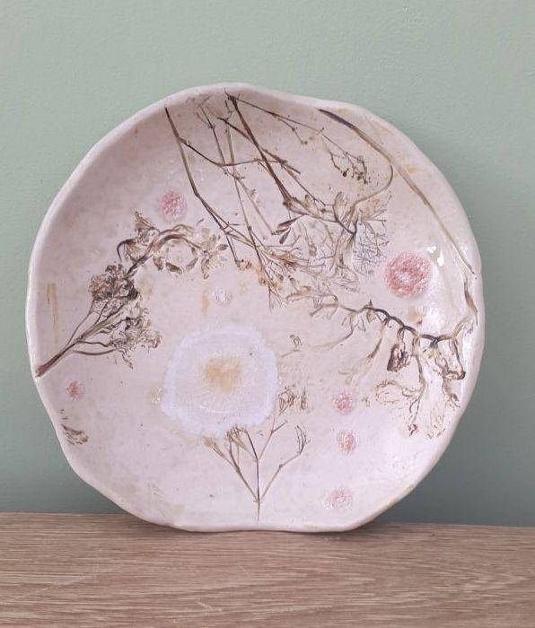 natural ceramic plate