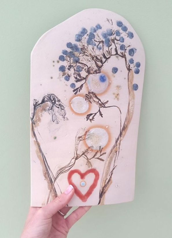 decorative ceramic wall hanging