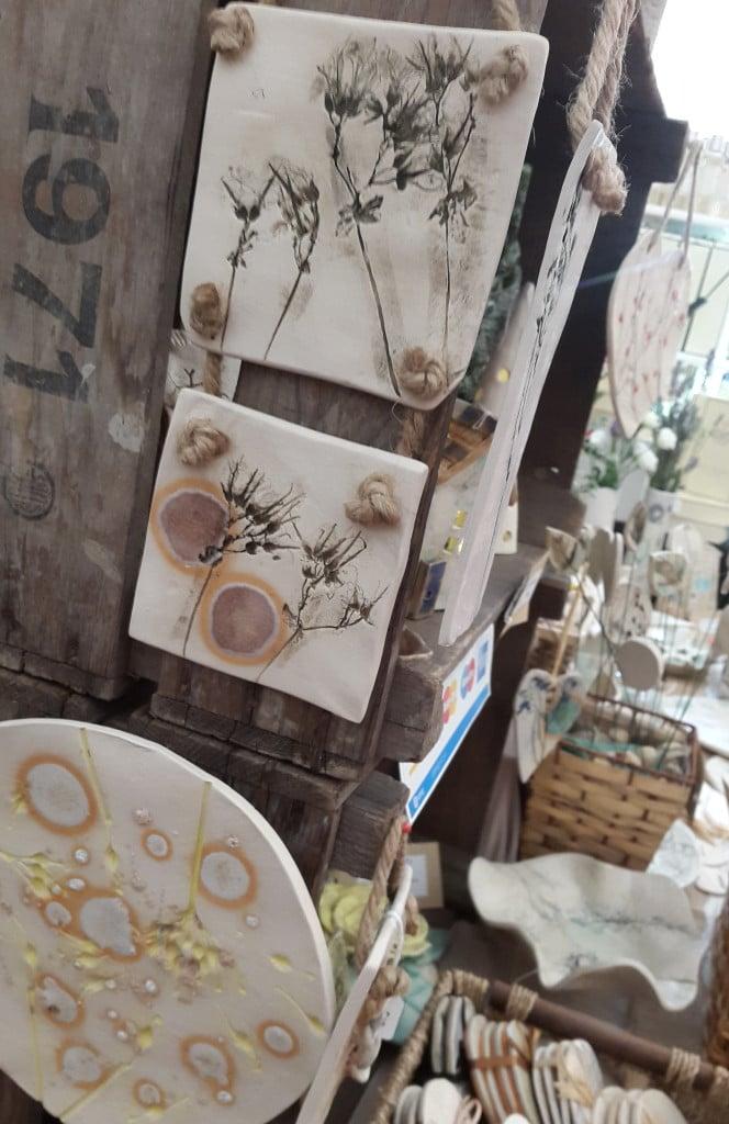 natural ceramic wall decorations