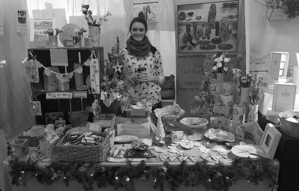 Charlotte Hupfield at Living Crafts