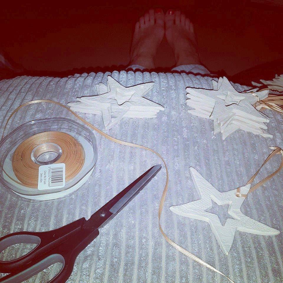 ceramic christmas stars
