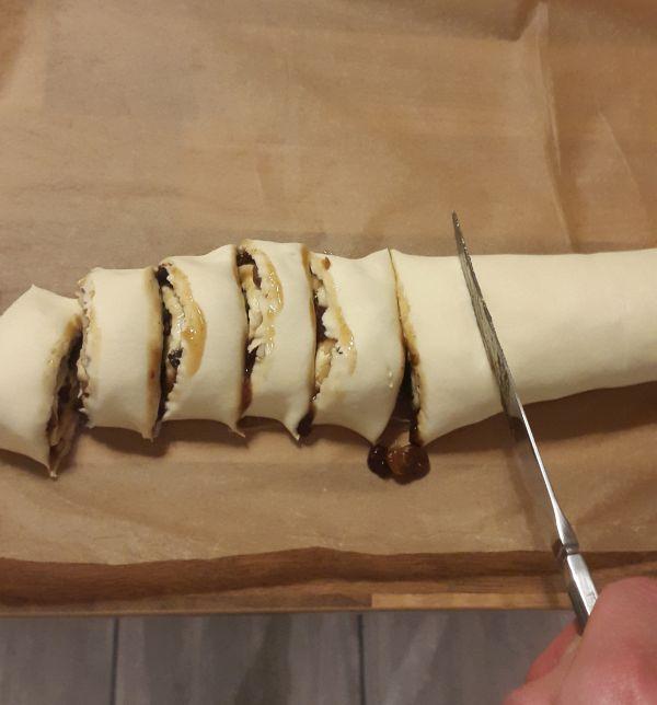 mince meat rolls