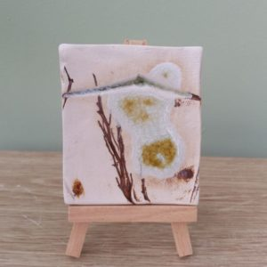 Mini Ceramic Art on Easels