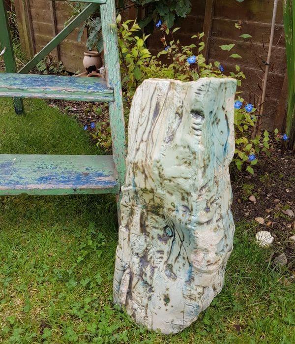 ceramic garden vessel