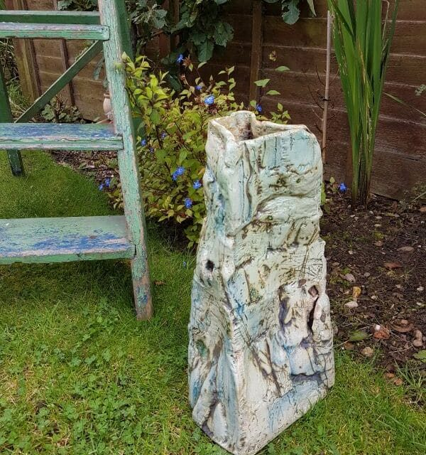 ceramic garden sculpture