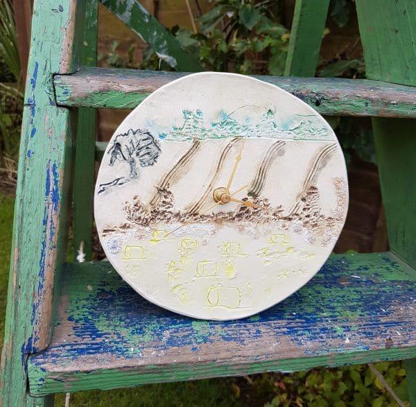 countryside clock