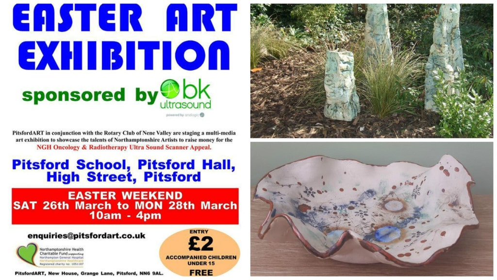 Easter Art exhibition Pitsford
