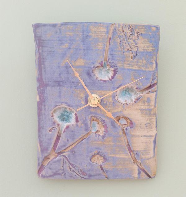 Dandelion Heads Ceramic Clock