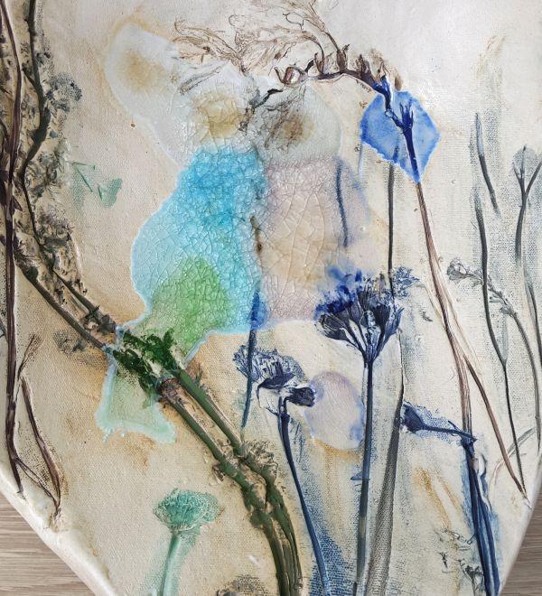 botanical blooms detail