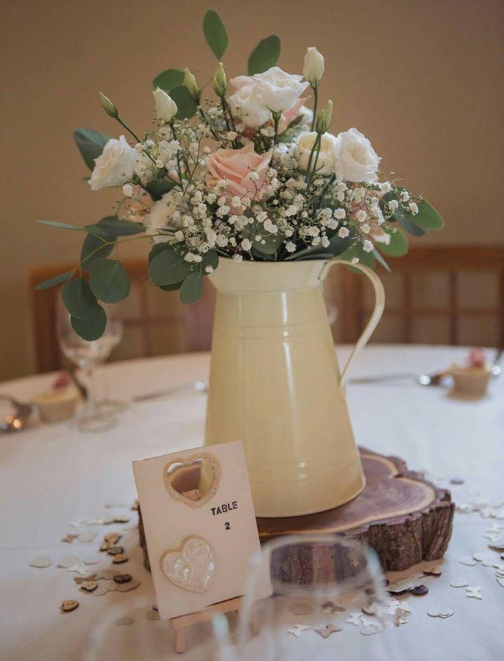 ceramic table number