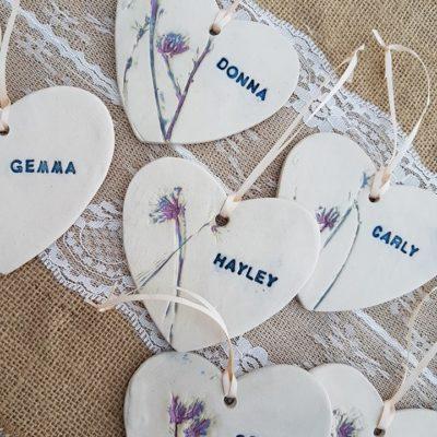 personalised ceramic bridesmaid gift