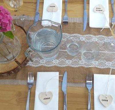 personalised wedding hearts