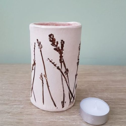 organic meadow ceramic vase