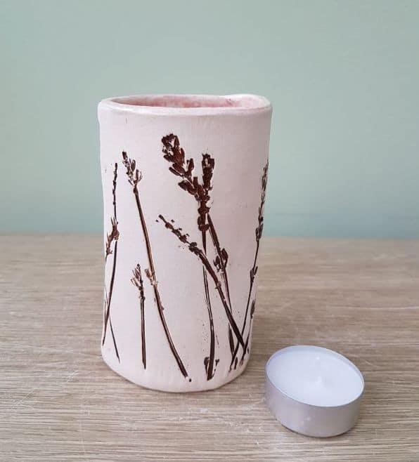 organic meadow ceramic vase