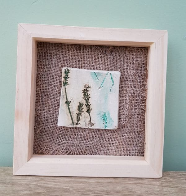 hessian picture ceramic tile